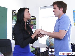 Jasmine Jae Seduces Hung Pupil