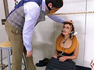 BDSM and a slave role is amazing experience for Dust-ball Margot