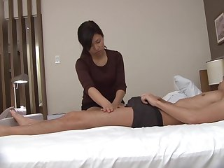Japanese massage gone calumny handjob with cumshot Subtitles