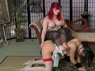 Wild submission and dominance sexual intercourse hilarity with dirty nympho Mistress Poisonousness