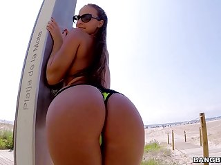 Amirah Adara In Rough Open-air Butt Copulating