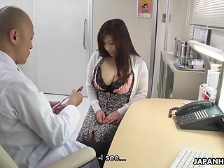 Depraved chubby Japanese little one Satomi Katayama is get-at-able to swell up two cocks