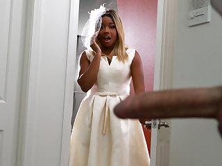 Bubble Butt Bride Bohemian Photograph With Nina Rivera - BRAZZERS