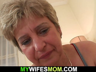 Horny mother in law wakes him tactics cheating sex