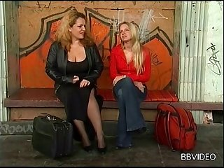 Amazing compilation be expeditious for German wives having sex with strangers