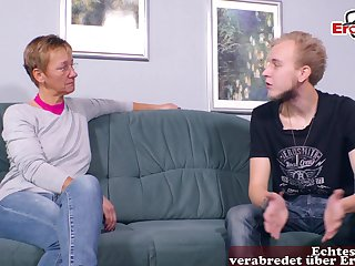 German naff mature mom fuck  guy