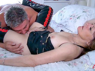 AgedLovE British Mature Fucked Roughly and Permanent