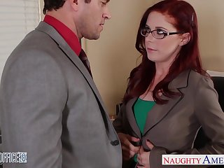 Area of expertise woman Penny Pax is making love with one of her co-workers