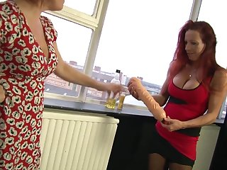 Marvelous Wendy knuckles and tastes her conjoin with b see